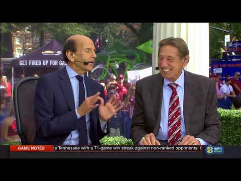 10/21/2017 SECN segment - Joe Namath Interview (HD)
