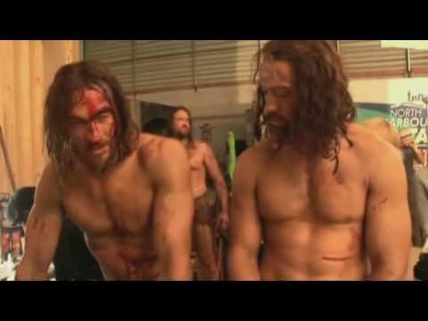 SPARTACUS tv show - BEHIND THE SCENES - Blood & Sand Season 1