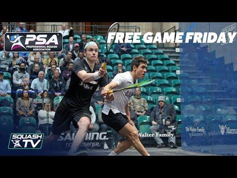 Squash: Free Game Friday - Rodriguez V Willstrop - PSA World Championships 2018/19