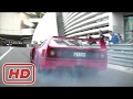 [ Mr Glenn ] Ferrari F40 Going Crazy in Monaco INSANE Burnout & Powerslide!