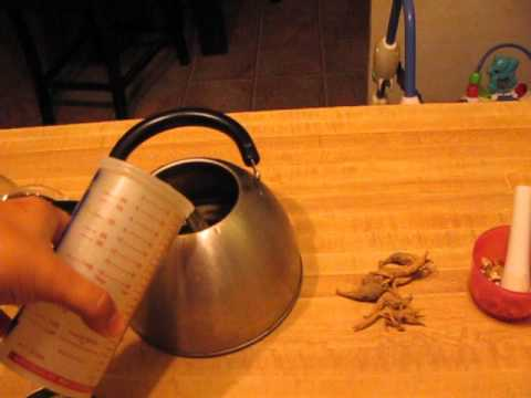 How to Make Ginseng Tea Part 1