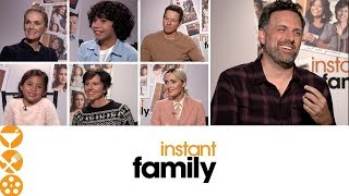 Instant Family (2018) Interview with Mark Wahlberg, Rose Byrne and Cast