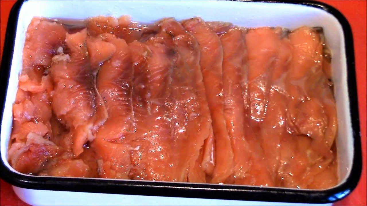 Рецепт приготовления замороженной горбуши