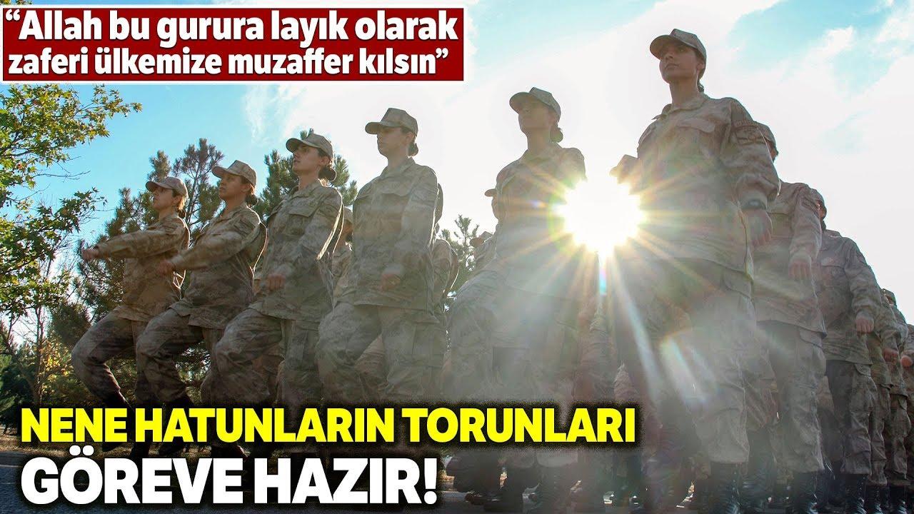 """Jandarma Kadın Astsubaylar """"Barış Pınarı""""nda Görev Almak İçin Hazır"""
