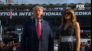 """Gentlemen, Start Your Engines!""  Grand Marshal President Trump at Daytona"