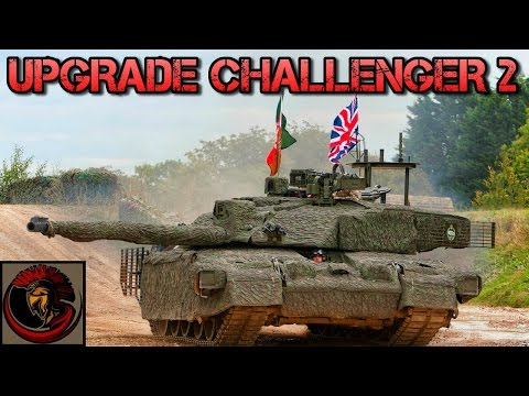 Challenger 2 Tank Getting Upgraded - BAE Upgrades