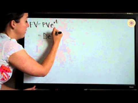 Present and Future Value Example 3 (KristaKingMath)