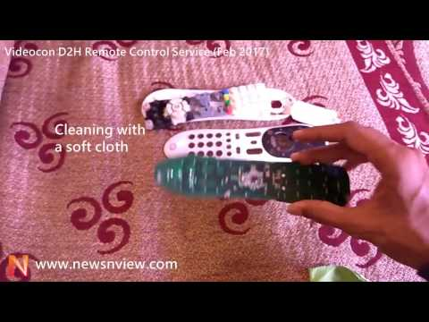 Videocon D2H Remote Control Service | Opening DTH Set Top Box Remote