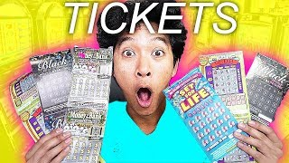 $250,000 Lottery Ticket Challenge!!! *DO NOT TRY*