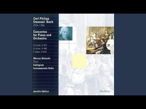 Piano Concerto in F Major, Wq. 33: II. Adagio