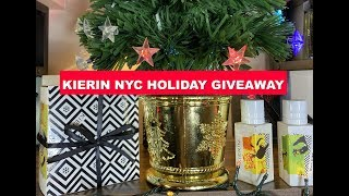 Kierin NYC Holiday GIVEAWAY of 2 Full Bottles