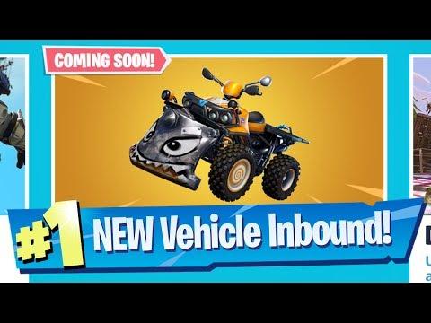 NEW Quad Crasher Vehicle Inbound!  Fortnite Battle Royale