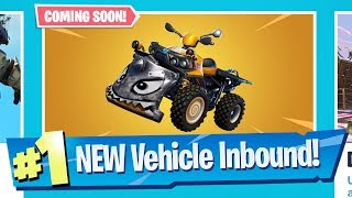NEW Quad Crasher Vehicle Inbound! - Fortnite Battle Royale