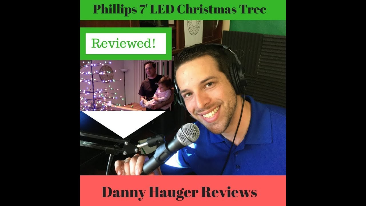 Philips 7 Foot LED PreLit Christmas Tree Review