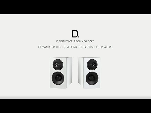 Definitive Technology — Introducing the Demand D11 Bookshelf Speaker