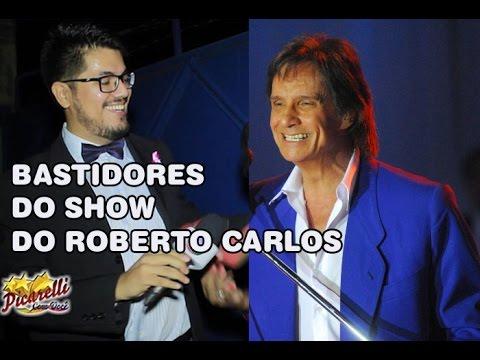 Denis Borat no show do Roberto Carlos