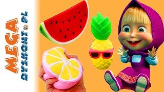 Masza & Niedźwiedź & Squishies • Plony w ogrodzie • bajki dla dzieci