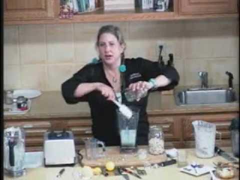 """317 QUEST.TV: Kari Bernardi: """"Lemon/Ginger Treats"""": Vibrant Living Expo Fort Brag 2009:  CS"""