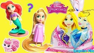 ДИСНЕЙ Принцессы в Сюрпризах со СЛАДОСТЯМИ Игрушки МУЛЬТИК. Disney PRINCESSES Candy Surprise TOYS