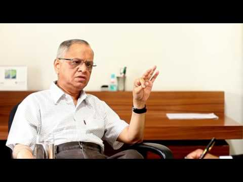 Interview with Infosys Narayanamurthy