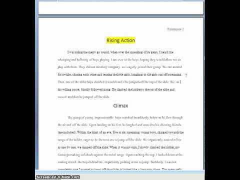 Narrative Essay Example