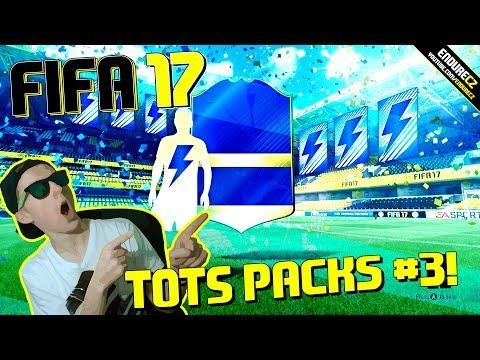 JSEM MILIONÁŘ!!! | TOTS BALÍČKY #3 | FIFA 17 CZ