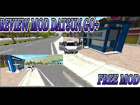 REVIEW MOD DATSUN GO + INTERIOR KEREN-MOD BUSSID