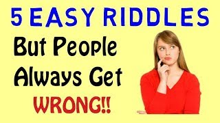 5 Tricky Riddles That Will Totally Blow Your Brain | Learn With Riya
