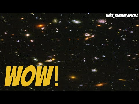 Hubble Ultra Deep Field in 4K