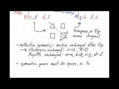 UBC ISCI 344 - Symmetric and zero-sum games