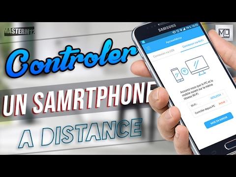 comment controler un telephone avec un autre telephone iphone