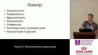 Пака М. В. - Постинъекционные саркомы кошек