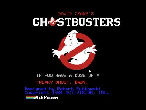 [MSX] Activision - Ghostbusters - Intro