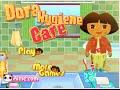 Online Dora The Explorer Games - Dora Hygiene Game