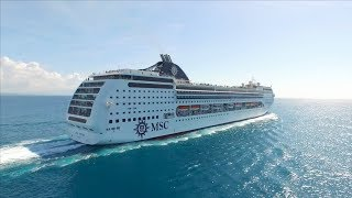 The cruise from Cuba through the Caribbean on MSC Opera from Sami a...