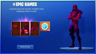 The *NEW* XBOX CELEBRATION PACK REWARDS IN FORTNITE..