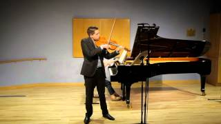 Brahms Sonata in E flat op. 120 no. 2  2nd Movement - Allegro appassionato 60fps