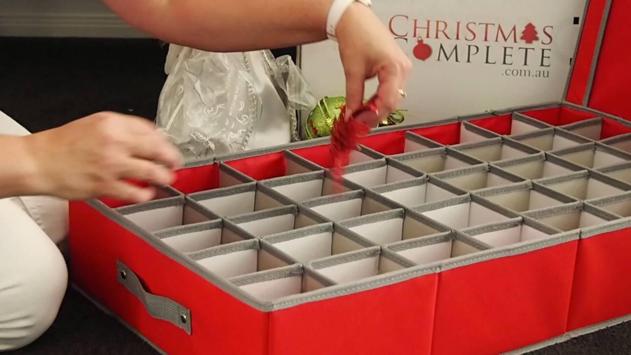 Christmas Ornaments Storage Box