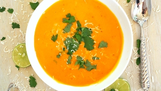 Soup Recipe: Thai Style Sweet Potato Soup by Everyday Gourmet with Blakely