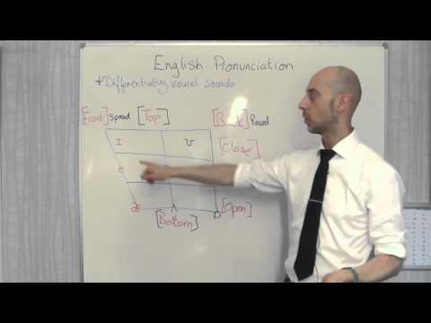 English pronunciation lesson - Differentiating vowel sounds (Part 2)