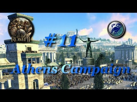 Total War: Rome II-Athens Campaign #11~The Defense of Athens!