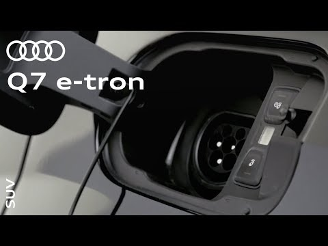 The Audi Q7 e-tron: Plug-in hybrid without the compromise