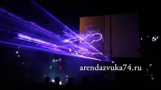 Лазерное шоу и роботы Полёт