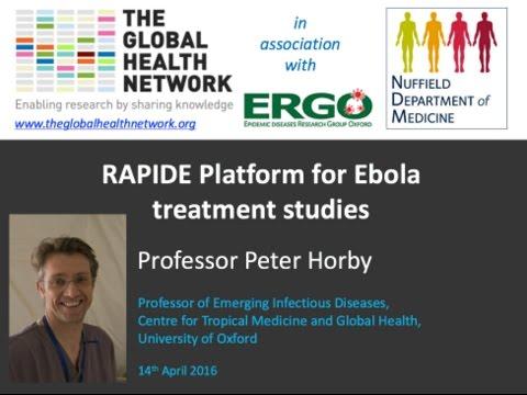 RAPIDE Platform for Ebola treatment studies