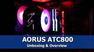 aorus ATC800 CPU Air Cooler - Unboxing and Overview