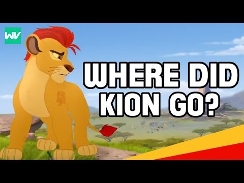The True Reason Kion Isn T In The Lion King 2 Canon Discovering Disney Youtube
