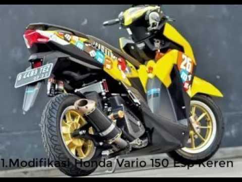 Modifikasi motor honda vario 125 150