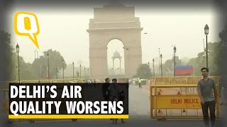 Delhi's Air Quality 'Beyond Severe' Due to Dust Storm in Rajasthan