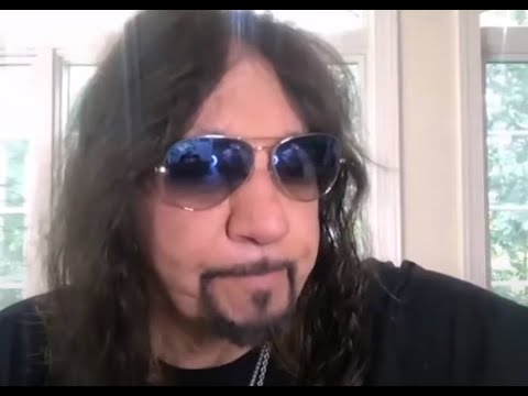 KISS guitarist Ace Frehley  new solo album 2021? new interview on line w/ Talking Metal Live