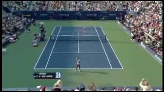 [HL] Justine Henin vs. Venus Williams 2007 US Open [SF]